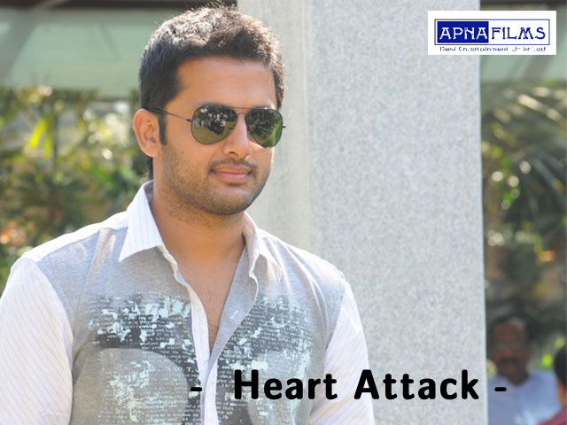 Upcoming telugu film heart attack