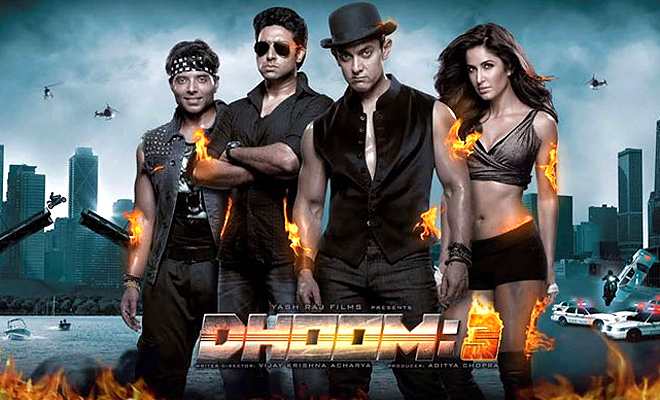 dhoom 3 box office report