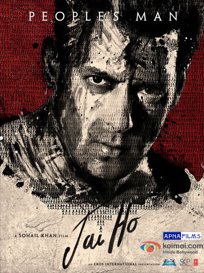 First-Look-Of-Logo-Of-Salman-Khan-Jai-Ho-Movie-Poster-Pic-1