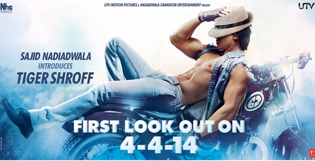 tiger shroff 1st look