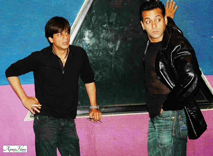 Salman suggests name of SRK for Bigg Boss 8