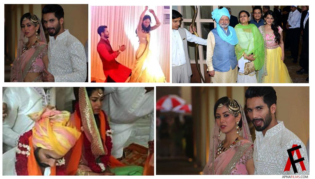 Shahid Kapoor ties the Knot 1