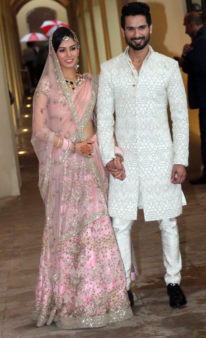 Shahid-mira-marriage-pictures