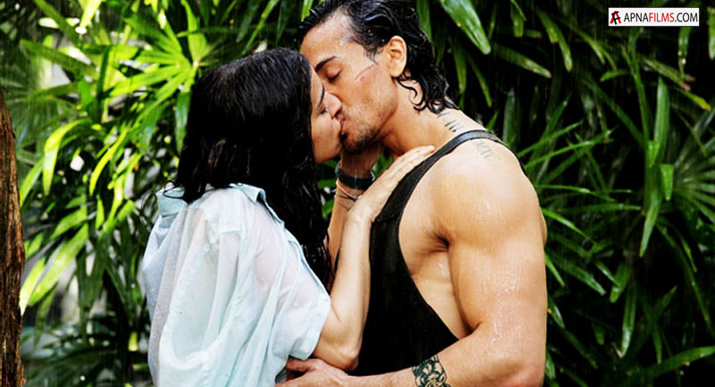 Shraddha Kapoor and Tiger Shroff in Baaghi 1