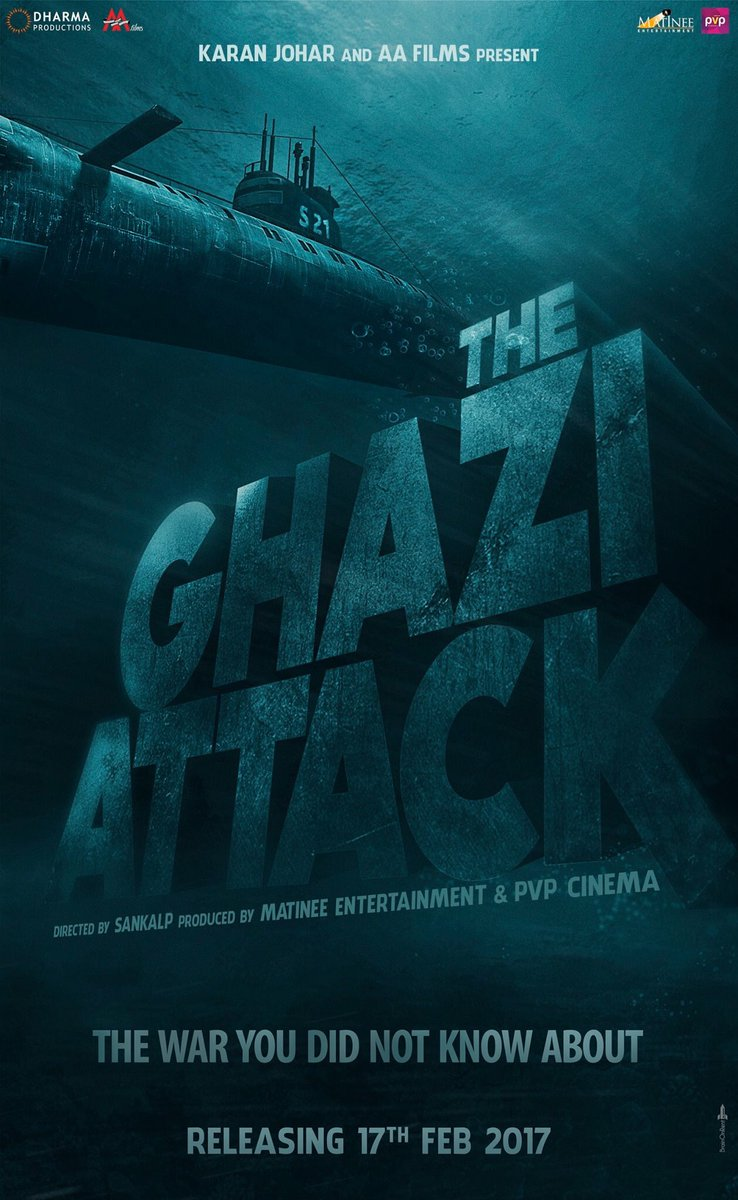 The Ghazi Attack first look poster 2
