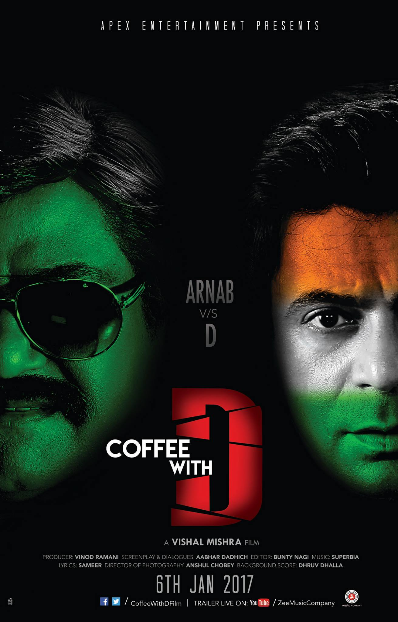 Coffee With D 1st Look Posters & Trailers 1
