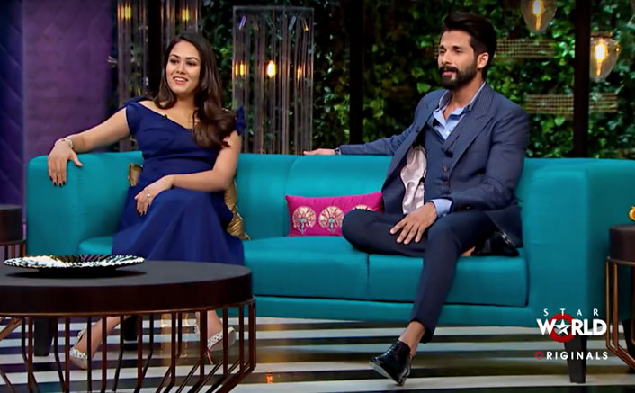 First On-screen appearance of Shahid & Mira 1
